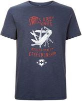 Victorinox Craftsman Slub Jersey Logo Tee