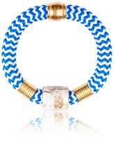 Iris Statement Bangle Bracelet Agean Blues