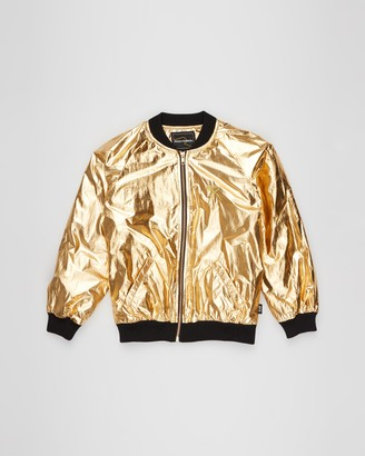 Rock Your Kid Metallic Jacket - Kids-Teens