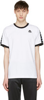 Kappa Ssense Exclusive White and Black Authentic Vale T-shirt