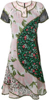 Coach floral-print dress - women - Cupro - 0