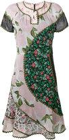 Coach floral-print dress - women - Cupro - 2
