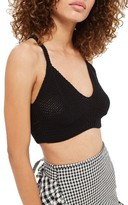Topshop Women's Crochet Bralette