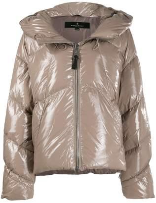 Nicole Benisti glossy puffer jacket