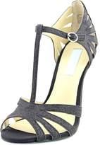 Betsey Johnson Womens SB-TEE Open Toe Ankle Strap