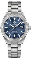 Tag Heuer Aquaracer Fine-Brushed Steel Bracelet Watch, WAY2112BA0928