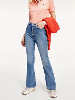 Tommy Hilfiger TH Cool Skinny Bootcut Jeans
