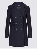 M&S Collection Wool Blend Coat