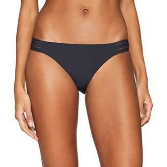 Seafolly Women's Active Multi Rouleau Brazilian Bikini Bottoms,6
