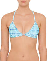 Sunseeker Morocco Blue Action Back Bralette
