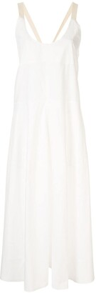 Lee Mathews Elsie halter dress