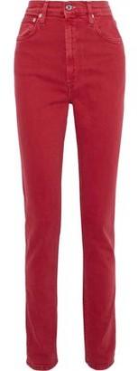 Helmut Lang Femme Hi Spikes High-rise Slim-leg Jeans
