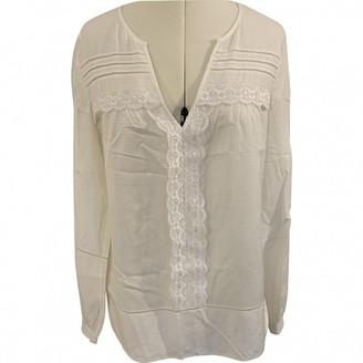Diane von Furstenberg Ecru Cotton Tops