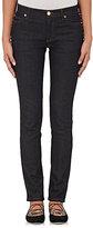 Valentino Women's Studded Five-Pocket Jeans-NAVY