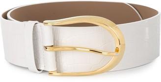 B-Low the Belt Erin crocodile-effect waist belt