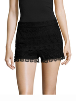 French Connection Castaway Embroidered Lace Short