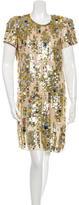 Reed Krakoff Sequins Mini Dress