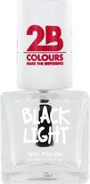 2B Colours Black Light Nail Polish