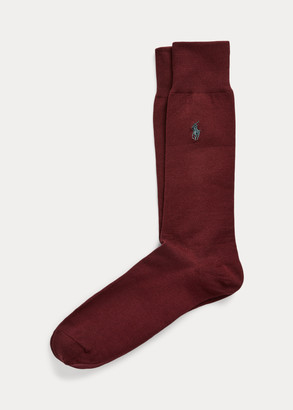 Ralph Lauren Stretch-Cotton Trouser Socks