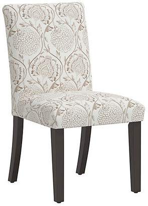 One Kings Lane Shannon Side Chair - Ranjit Floral Brown