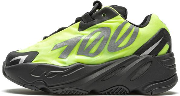 Adidas Yeezy Boost 700 MNVN Infant 'Phosphor' Shoes - Size 6K