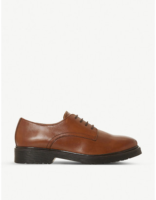 Dune Flare lace-up leather brogues