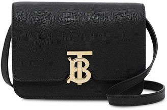 Burberry Mini Grainy Leather TB Bag