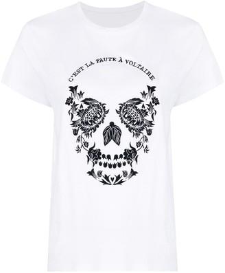 Zadig & Voltaire Zoe skull T-shirt
