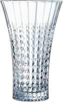 Cristal d'Arques Lady Diamond Vase, 27cm