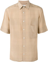 Lemaire checked shirt - men - Viscose - 46