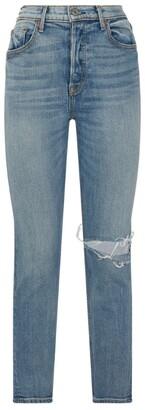 GRLFRND Karolina Ripped Knee Jeans