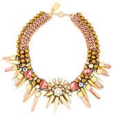 Assad Mounser Multistrand Chain-link Crystal Necklace