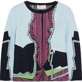 Peter Pilotto Jacquard-knit cardigan
