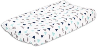 The Peanut Shell The Woodland Trail Changing Pad Cover