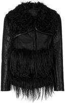 Drome furry appliques jacket - women - Lamb Skin/Viscose/PBT Elite - S