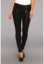 Bleu Lab Bleulab - Reversilbe 8-Pocket Legging in Black Venetian Lace/Black Coating (Black Venetian Lace/Black Coating) - Apparel