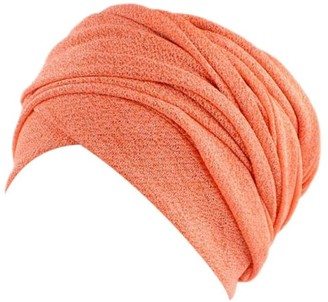 Zerototens Women India Africa Muslim Stretch Turban Head Scarf Wrap Cap Hair Loss Head Scarf Wrap Head Cover Bandana Headwear for Chemo Cancer Hair Loss