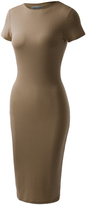 BB Coffee Biadani Slim-Fit Bodycon Dress - Plus Too