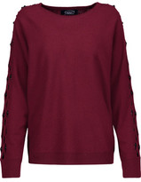 Magaschoni Cutout Embellished Cashmere Sweater