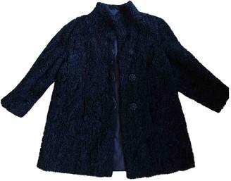 Astrakhan Non Signe / Unsigned Black Coat for Women