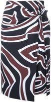 Emilio Pucci printed skirt - women - Polyamide/Spandex/Elastane - 38