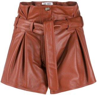 The Attico Pleated Shorts