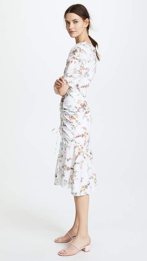 Rebecca Taylor Short Sleeve Belle Pop Dress