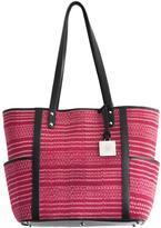 Vayu Red Ikat Woven Bag