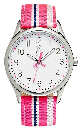 Juicy Couture Juicy Stripes Pink Strap