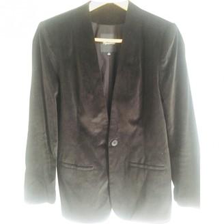 Madewell Black Velvet Jacket for Women