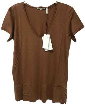 Helmut Lang Brown Cashmere Tops