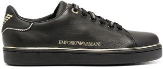 Emporio Armani Low-Top Logo Sneakers