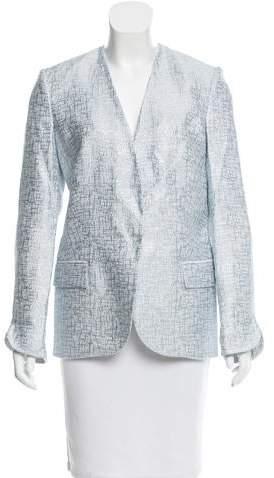Genny Metallic Textured Blazer w/ Tags