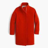 J.Crew Stadium-cloth cocoon coat